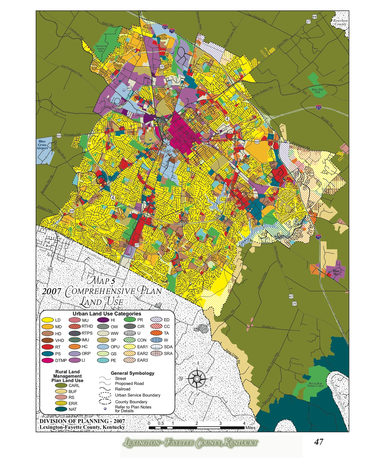 2007 Comprehensive Plan Land Use