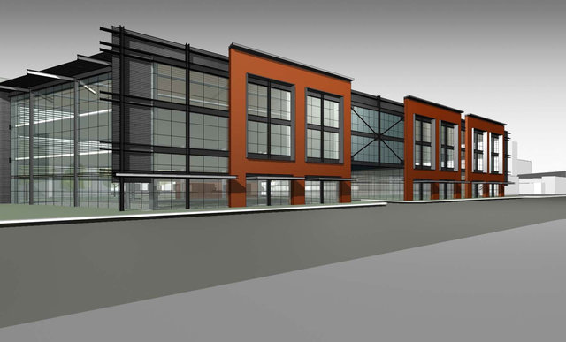 This building was proposed for the corner of West Vine and Main streets in Lexington on Feb. 23, 2011, after a decision not to build a CVS pharmacy on the property. | Kentucky.com
