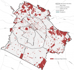 Vacant & Undeveloped Land Map